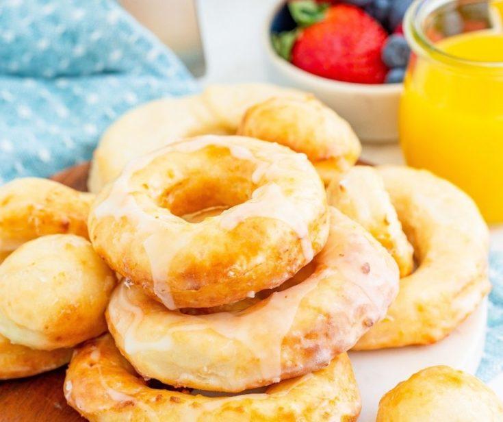 Air Fryer Krispy Kreme Donuts